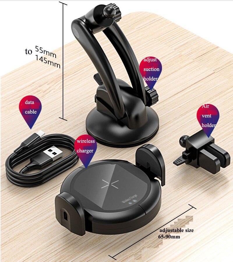 13Infrared Sensor Car Charger