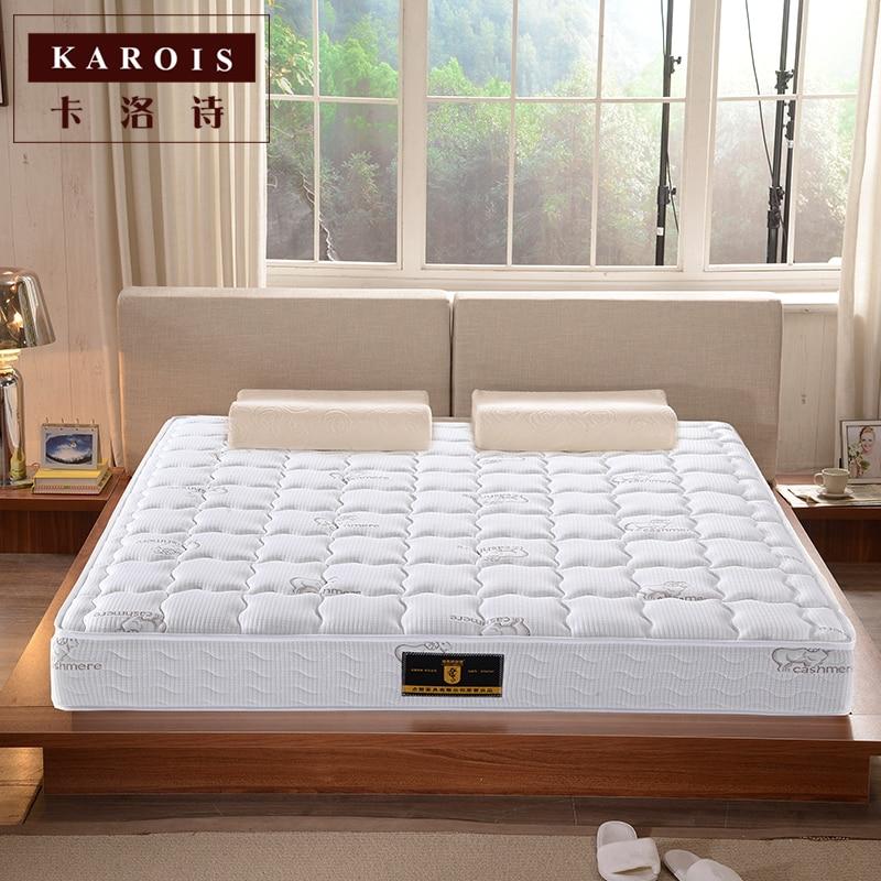 Factory wholesale solid oak wood double bed, modern design, bedroom ...