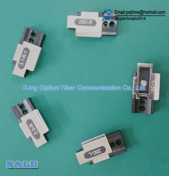 5 PCS Jilong KL-280H KL-280F KL-300F Optical fiber fusion splicer 900um 250um FTTH optical fiber pigtail fiber jumper clamp
