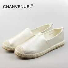 2017 Лоферы обувь женщин круглый носок на плоской подошве Всесезонная женская обувь белый черный светло-золотой большой размер Молодежная обувь