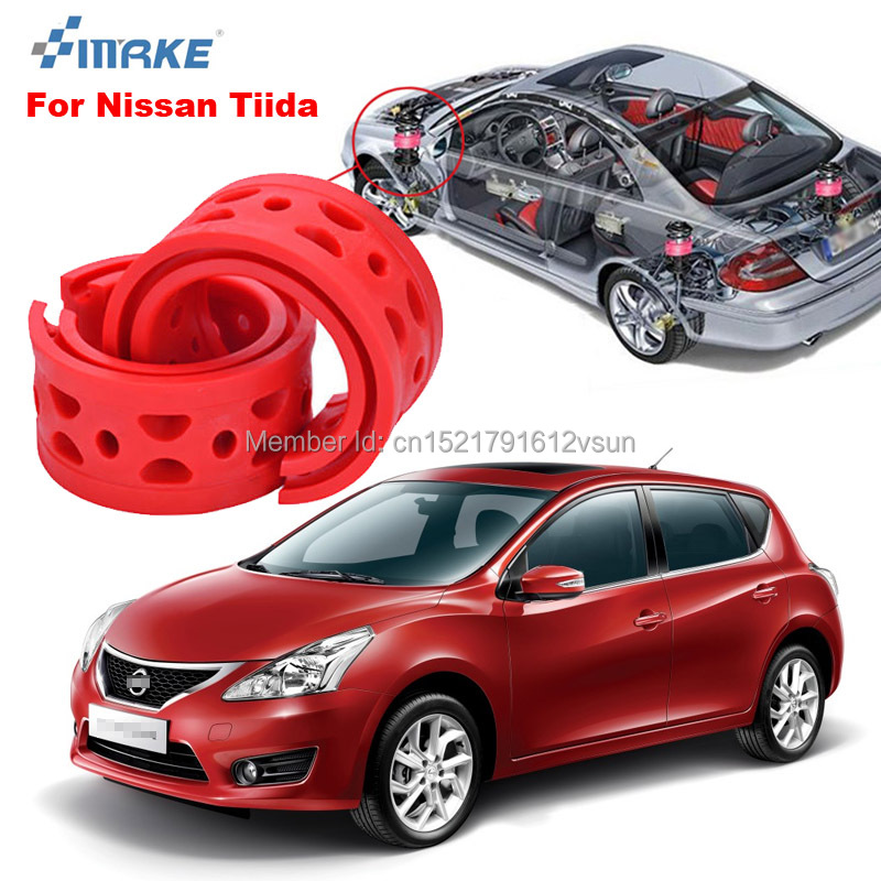 smRKE For Nissan Tiida High quality Front Rear Car Auto Shock Absorber Spring Bumper Power Cushion Buffer in Shock Absorber Parts from Automobiles Motorcycles