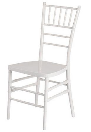 Wholesale Quality Plastic Chiavari Chair Wedding Plastic Tiffany Chair