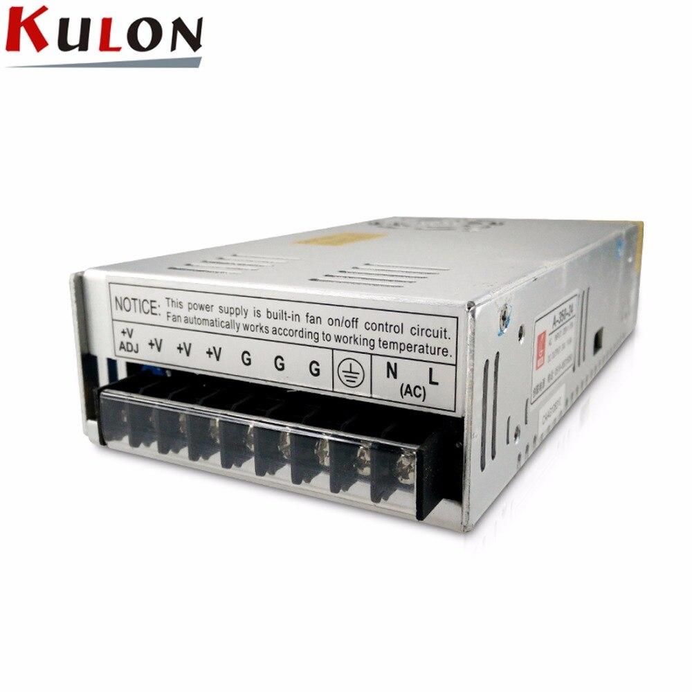 все цены на single output 350w 24v 14.6a power supply Lighting Transformer LED Driver Power Adapter Switch for LED Strip Light A-350-24 онлайн