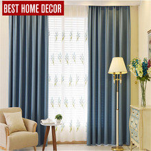 BHD tailor-made modern cloth blackout curtains for window blinds 90% shading blackout curtains for living room bedroom drapes издательство аст фэнтези дом секретов