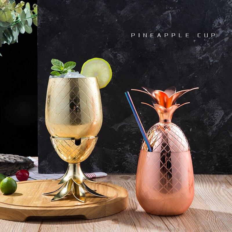 3 cores (prata, cobre, ouro)-cocktail beber copos canecas barra ferramenta