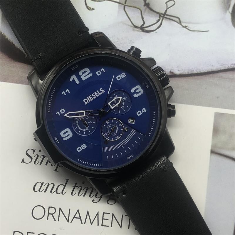 Diesels Watch Luxury Mens Watches Quartz Stopwatch All Function Relogio All Pointers Work Deisgner Waterproof Man Chronograph