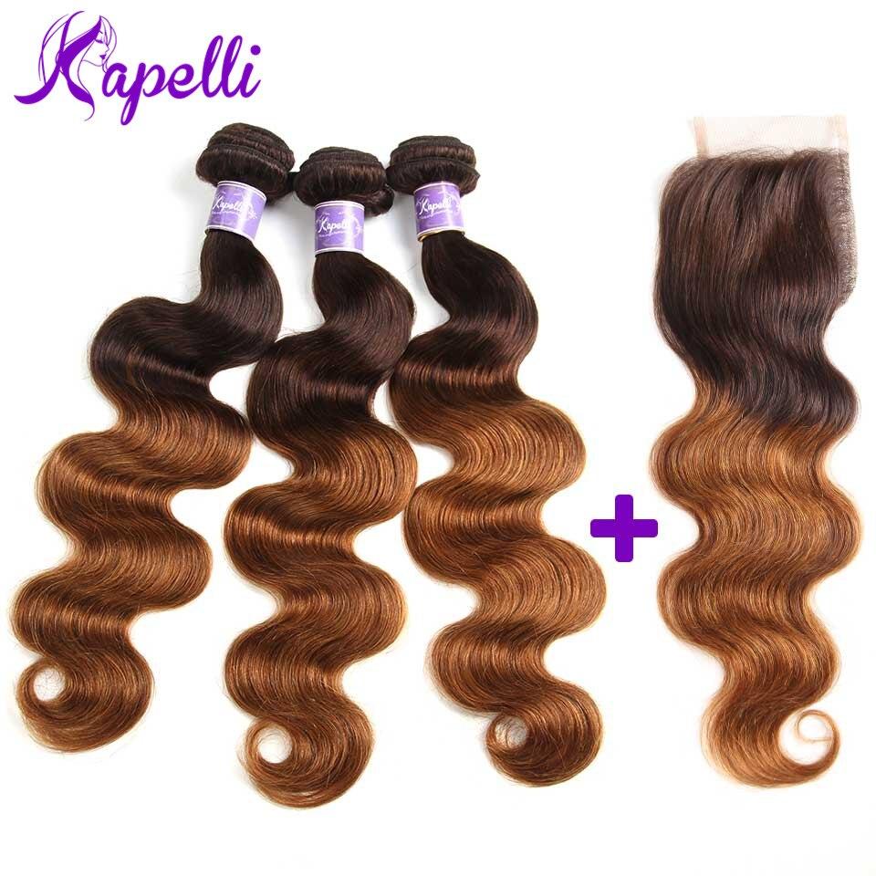 Human Hair Peruvian Body Wave Human Hair Bundles With Lace Frontal Closure 100% Human Hair 3 Bundles With Lace Frontal