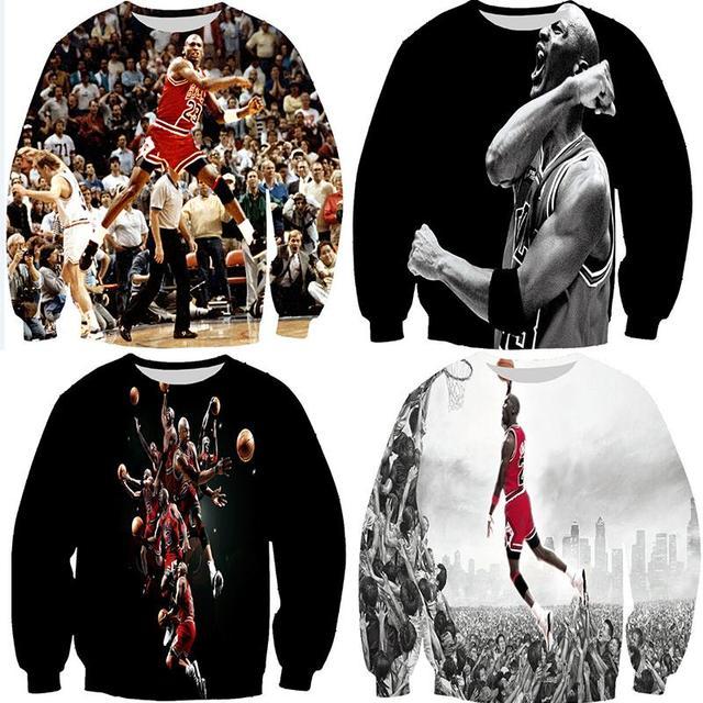 Newest 3d jordan sweatshirt basketball star michael jordan fighting classic  shooting basketball women mens crewneck hoodies 08e57b68a6