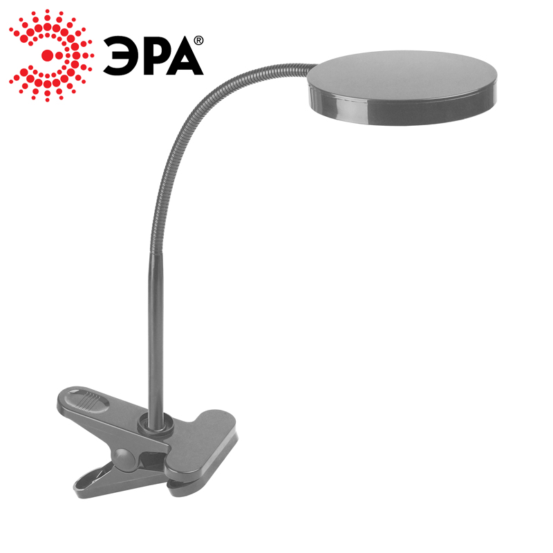 ERA Table Desk LED Lamp NLED-435-4W (black, blue, white) icoco eye protection led 3 modes dimmer rechargeable desk lamp student study reading light touch on off switch led table lamp