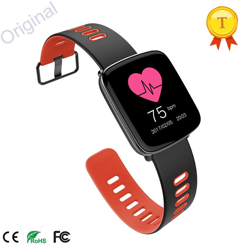 2017 Fashion Smart Watch Changable Stripes with SleepHeart Rate Monitoring Compatible for IOS Android Best Gift for friends