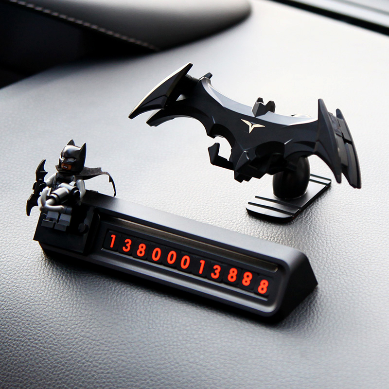 Batman Car Phone Holder In Car Air Vent Clip Mount No MagneticUniversal Cool Mobile Phone Holder Support For IPhone Xr Xiaomi