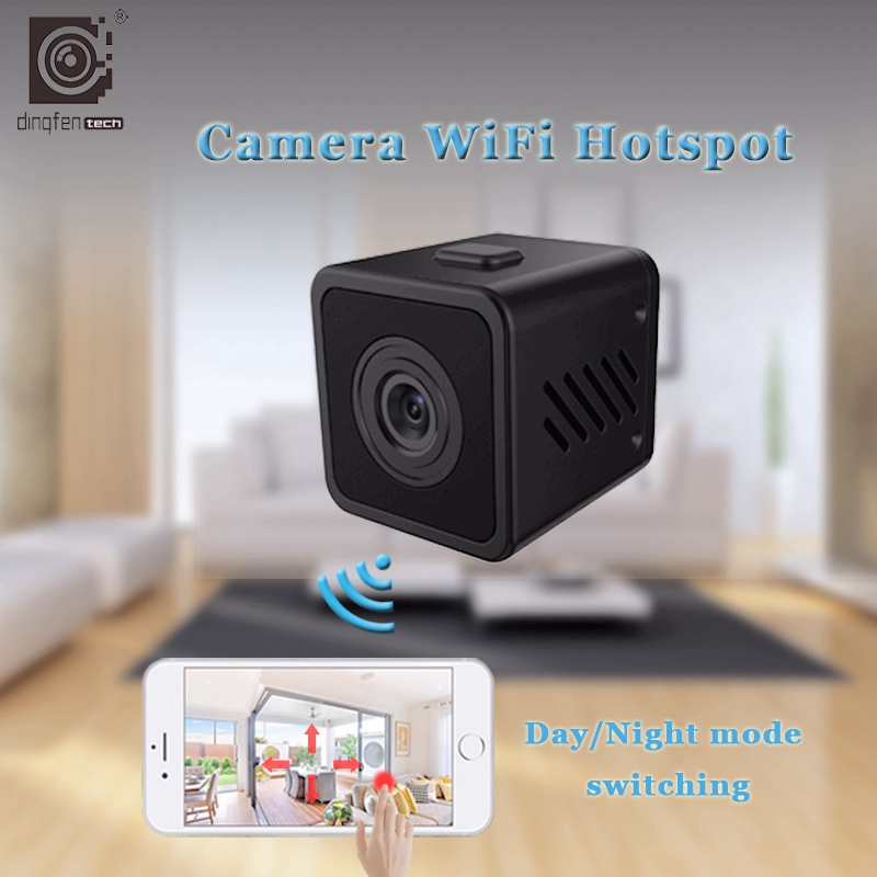 HD Small Mini Cam Wireless Wifi IP Camera IR-Cut Night Vision wi-fi Home Security Cameras Baby Monitor Outdoor Micro Camcorder howell wireless security hd 960p wifi ip camera p2p pan tilt motion detection video baby monitor 2 way audio and ir night vision