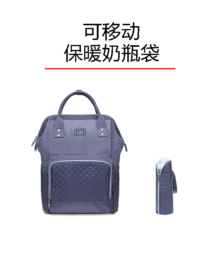 2019 new fashion Diaper bag multi-function Mummy Maternity Nappy Bag Brand Large Capacity Travel Backpack Designer (9)