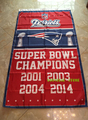 Free shipping 3x5FT New England Patriots  flag,  NFL Vince Lombardi Trophy championship banner 100D