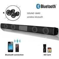 New Fashion Wireless Bluetooth Soundbar Speaker TV Home Theater Soundbar + Remote Control