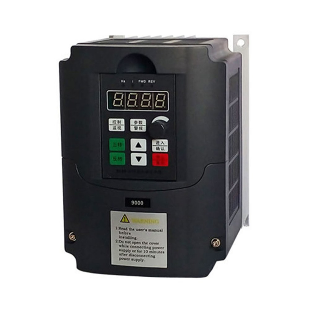 цена на 380V 0.75KW/1.5KW/2.2KW 3 Phase Input 3 Phase Output Mini Frequency Converter Adjustable Speed Drive Frequency Inverter