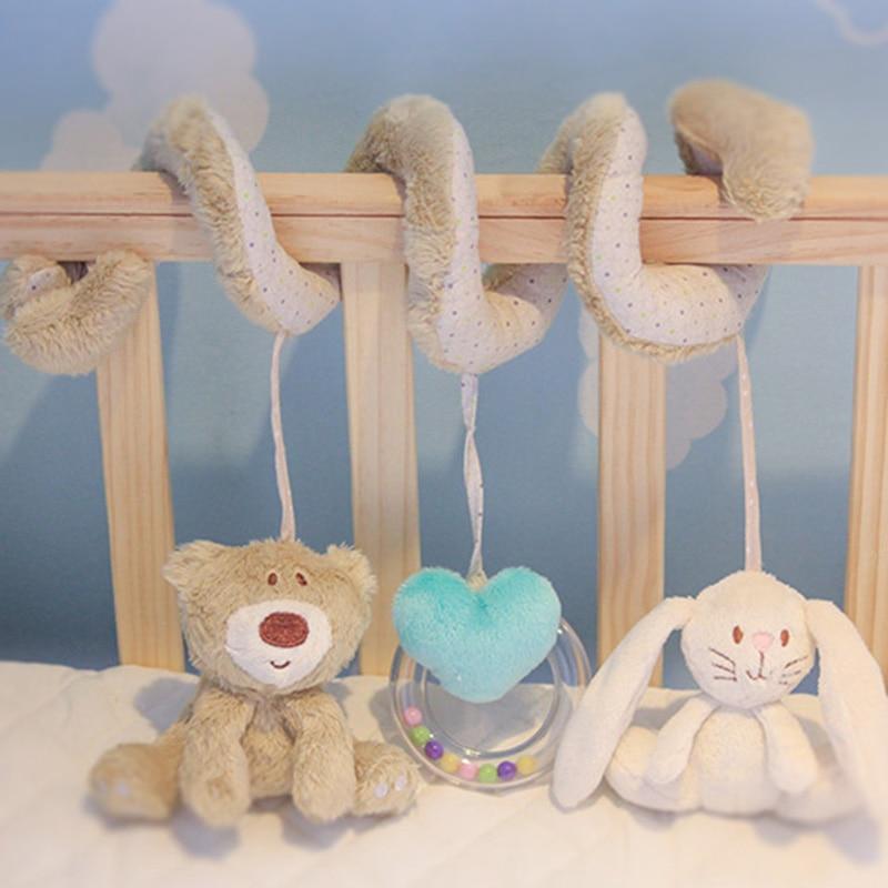 Baby Toys Crib Bed Musical Rabbit Hanging Newborn Gift ...