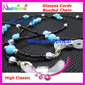 free shipping L817  high classic nice beaded eyeglasses sunglasses eyewear spectacle chain cords
