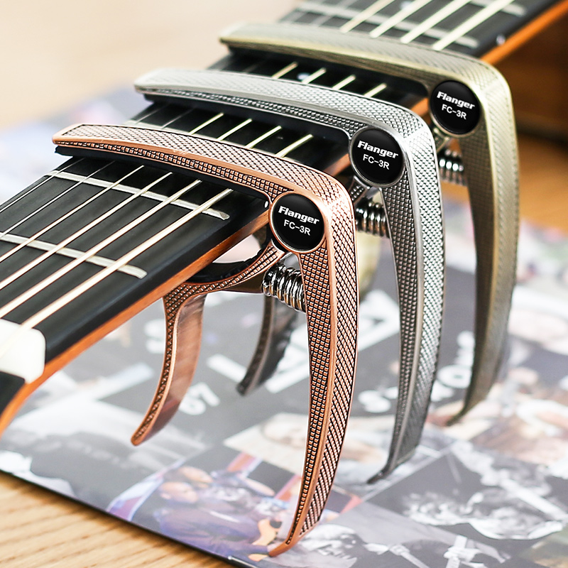 Guitar Capos Single Handed With Quick Change Lightweight Aluminum Alloy For Acoustic And Electric Guitars Guitar Parts Accessory