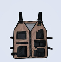 Urijk Hardware Electrical Tool Bags Tool Vest Multifunctional Storage Tools 600D Oxford Cloth Packet