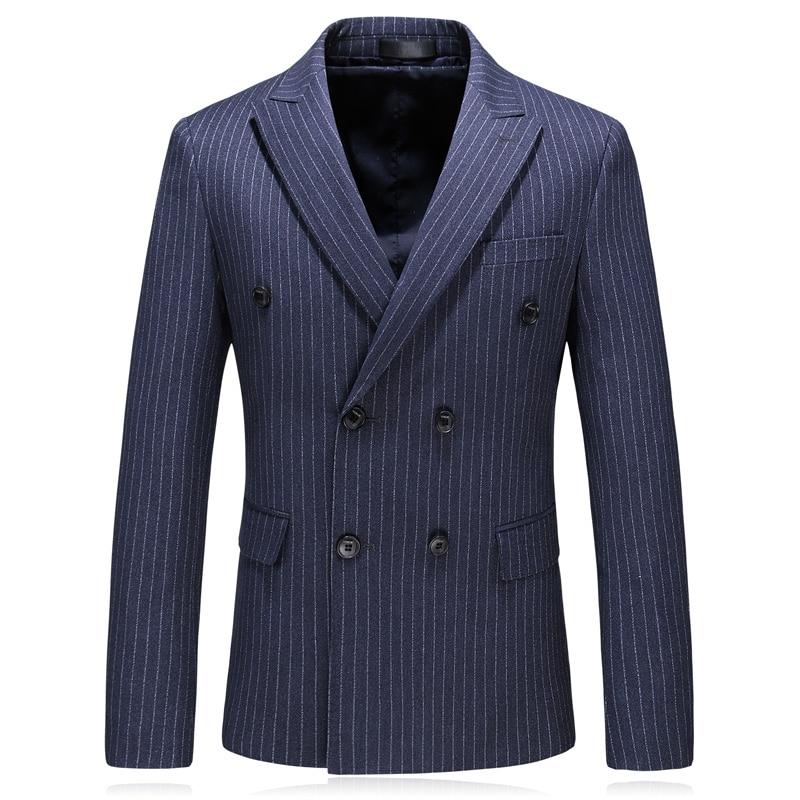 Bleu Xf032 Décontractée Plein Printemps Mode 2018 Costume Robe Classique Gilet Mariage De Pantalon Bande veste D'affaires Costumes Hommes wqBTaR