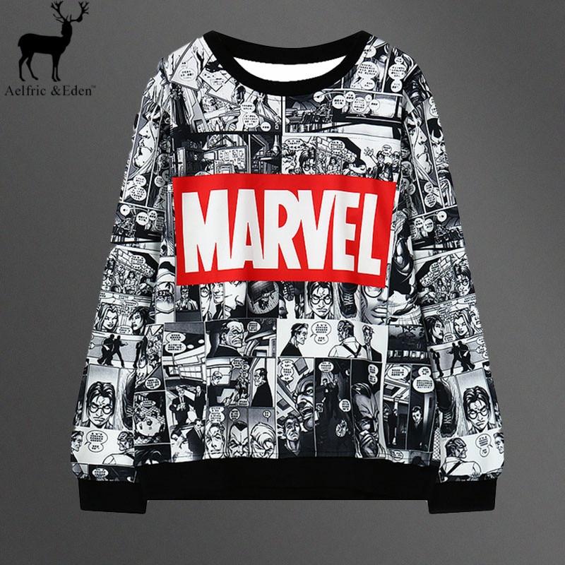 Marvel Printed Female Hoodie...