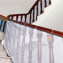 Children Safety Stair Mesh Net Baby Stairway Protection Safety Fence Kids Anti-fall Railing Stairs Balcony Safe Protecting Net(China)