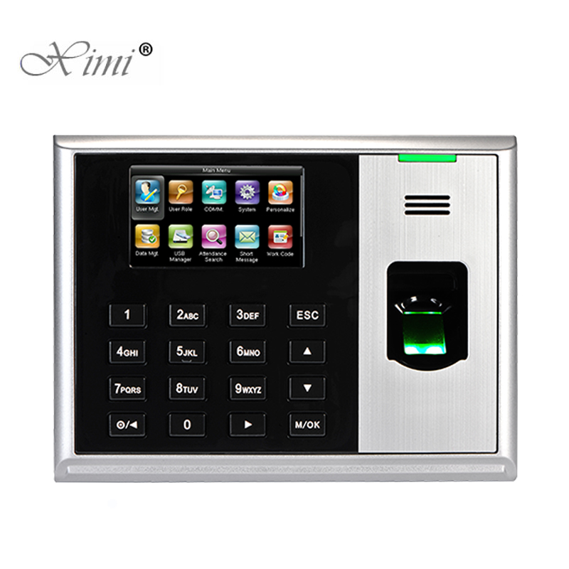 ZKteco S30 Biometric Fingerprint Time Attendance Linux System TCP/IP Employee Attendance Time Recording Time Clock System