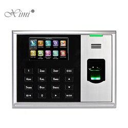 ZKteco S30 Biometric huella digital tiempo asistencia sistema Linux TCP/IP empleado asistencia tiempo grabación tiempo reloj sistema