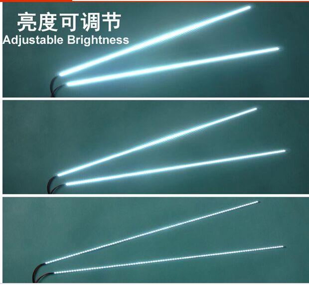 Free Shipping 20pcs 22 Wide 490MM 4MM 2835 Adjustable Brightness LED Backlight Strip Kit Update LCD