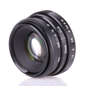 Image 5 - 복건 35mm f1.6 c 마운트 카메라 cctv 렌즈 ii + 어댑터 캐논 eos m EF M 미러리스 + 미니 블로잉