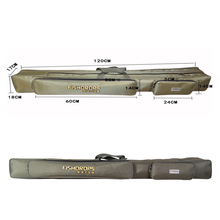 1.2M Two-Layer Fishing Bags Fishing Rod Bag Carp Fishing Tackle Bag for Fish Multi-Purpose