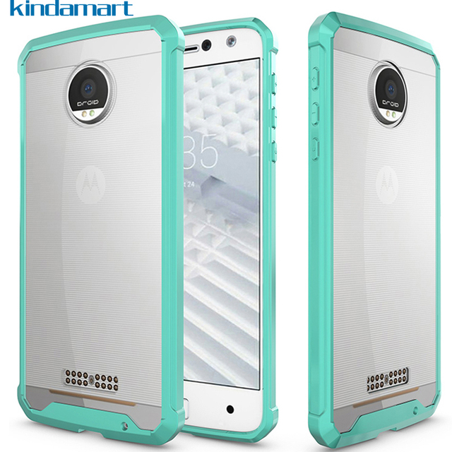 wholesale dealer dec22 7255a US $2.99 |for Motorola Moto Z Case for Moto Z Droid Case Transparent Hard  Cover Bumper Shockproof Silicone Case for Moto Z Z Droid XT1650-in Fitted  ...