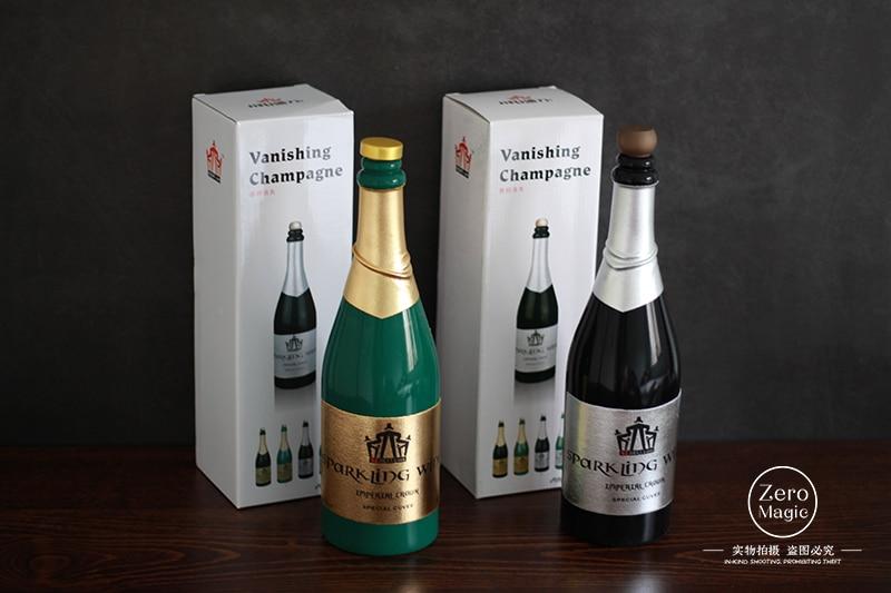 Stage Magic Tricks,Illusion,Fun,Bottle Vanishing Vanishing Beer Bottles Green