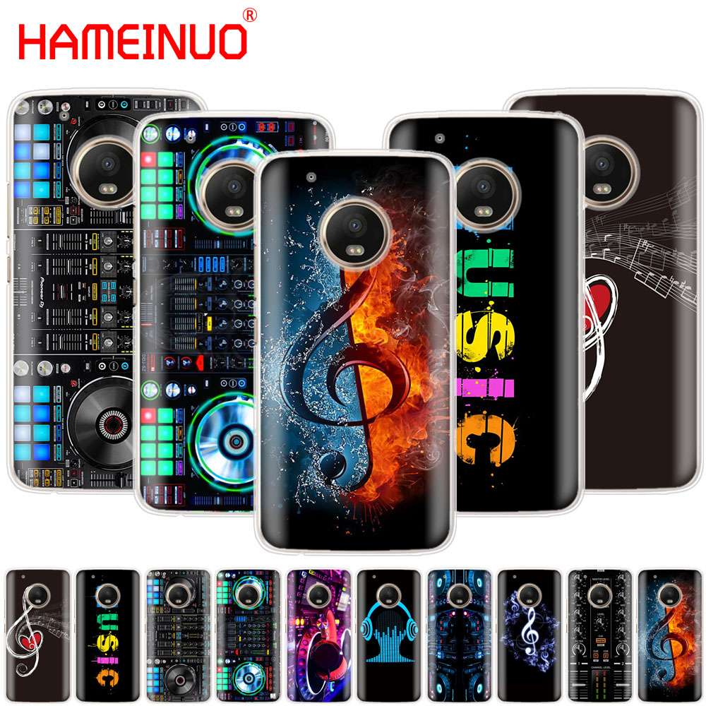 HAMEINUO ddj dj music case phone cover For Motorola Moto X4 E4 C G6 G5 G5S G4 Z2 Z3 PLAY PLUS