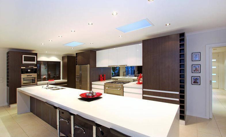 Wood Veneer Kitchens