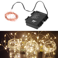 4M 40 LED Waterproof Outdoor Indoor Copper Line String Light for Wedding Festival Party Decoration Light  FULI