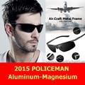Gafas de sol de Luxo Para O Polícia Soldado Modelo de Motorista Reforçada Polarizada Tac Para Golf Polarizada Uv 400 homens óculos de sol 8869
