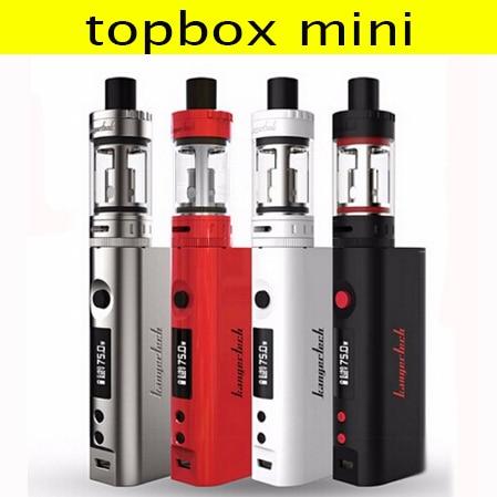Оригинал kangertech kanger topbox мини-starter Kit vape с topbox мини Automizer Контроль Температуры Электронный Сигареты