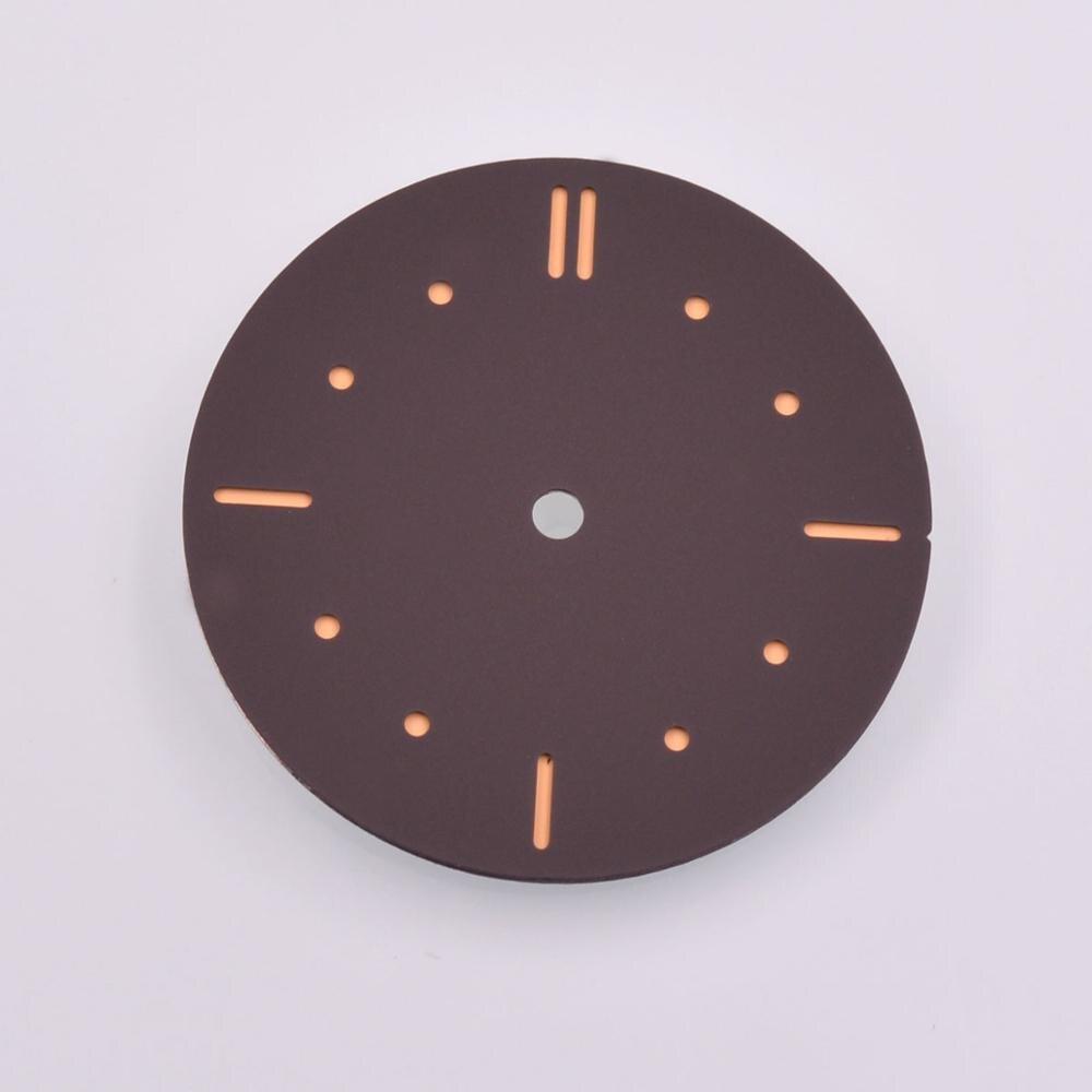 38.9mm parnis sandwich sterile Sterile coffee dial no logo watchdial ETA 6497 6498 movement