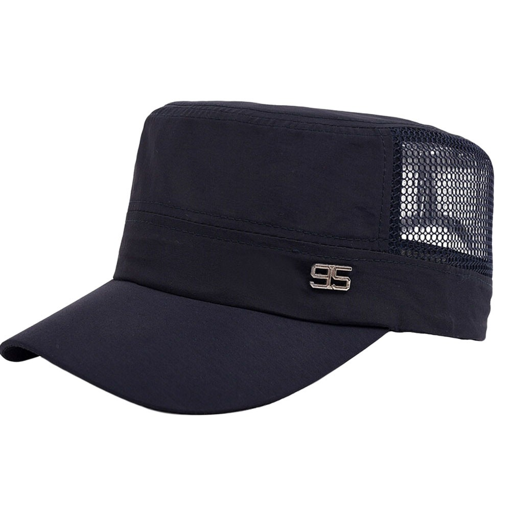 4f0e7f947c3 Fashion Women Outdoor Plain Vintage Army Military Cadet Style Cap Hat  Adjustable summer hats for women