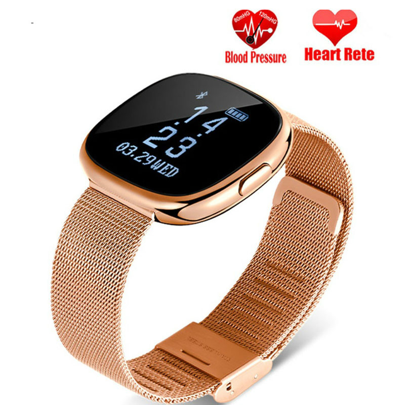 Smart Band Watch Heart Rate Monitor Blood Pressure Smart Bracelet Pedometer Sleep Fitness Tracker Bracelet For Android IOS 2019