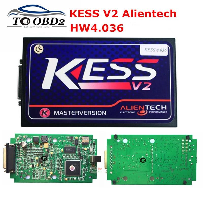 Цена за 2017 Best качество OBD2 K-люкс KESS V2 HW4.036 мастер версия V2.32 Авто ЭКЮ менеджер Наборы Multi- автомобилей марки KESS
