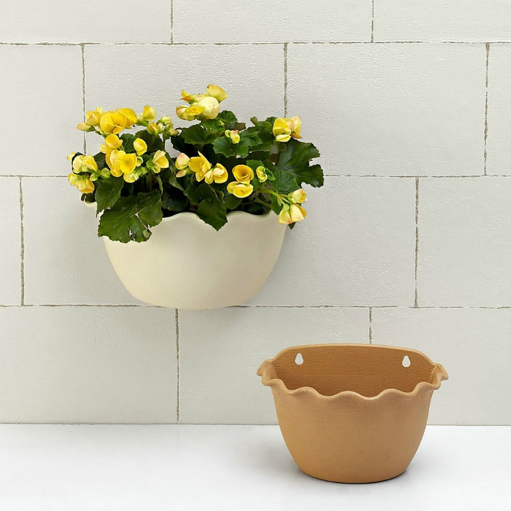 Small/Large Beige/Light Brown Living Wall Planter Vertical Garden Wall  Mounted Hanging Planter With One Hook In Flower Pots U0026 Planters From Home U0026  Garden On ...