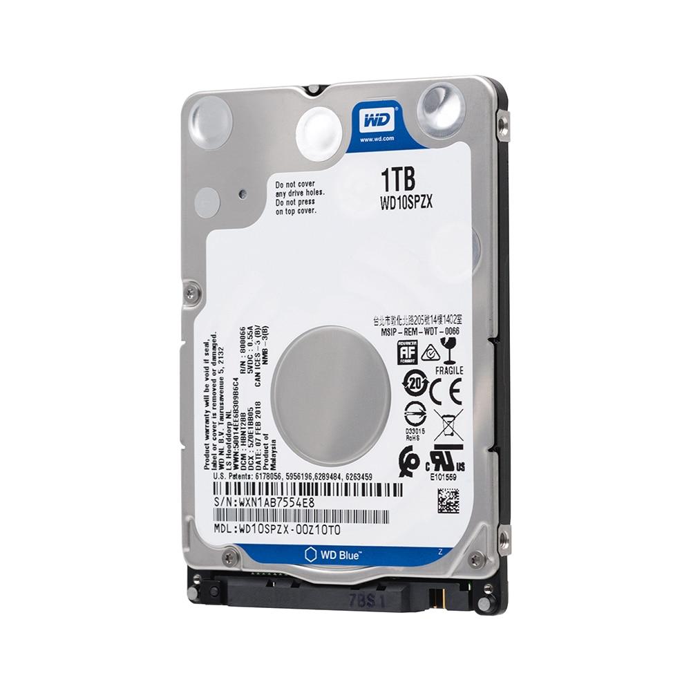 Western Digital Wd Blau 1 Tb Hdd 2,5 Sata Disco Duro Laptop Interne Sabit Festplatte Interne Hd Notebook Festplatte Wd10spzx Externe Festplatten