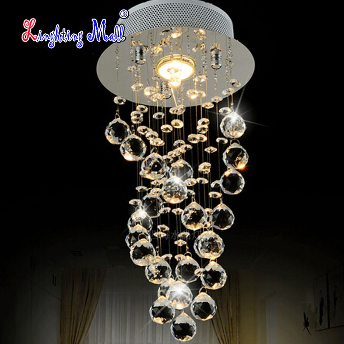 Vendita calda moderno led lampadari di cristallo camera da letto ...