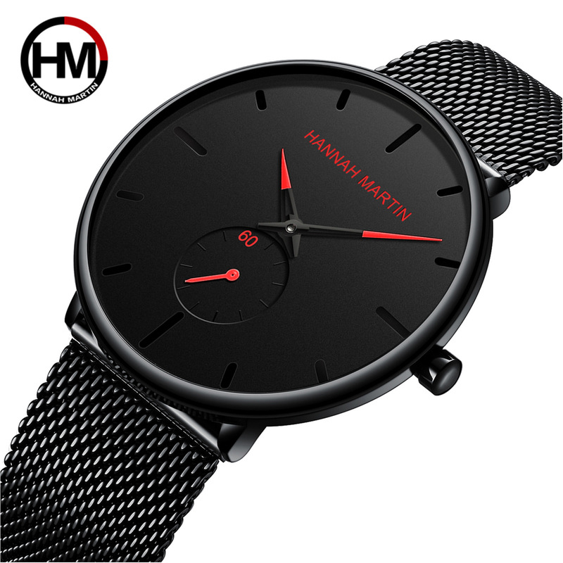 Men's Watch Fashion & Casual Sony Electronics Quartz Stainless Steel Unique Watches Clock Gift Multicolor Optional