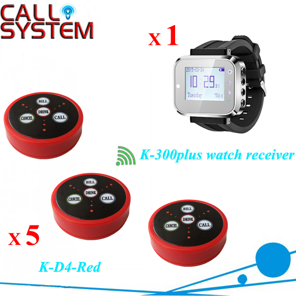 Wireless sound system waiter call to the cafe restaurant wireless watch call service call customerWireless sound system waiter call to the cafe restaurant wireless watch call service call customer