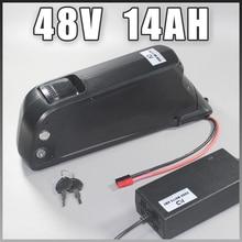 48V 500W 750W 1000W Sanyo Ga 18650 Электрический велосипед Батарея 48v 14ah Дельфин Тип 48v 8fun Батарея 48 v, фара для электровелосипеда в Батарея