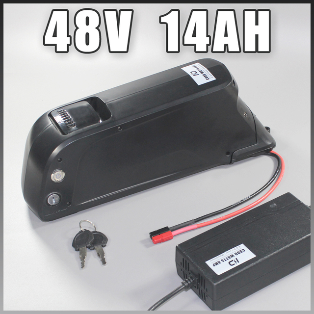 48V 500W 750W 1000W Sanyo Ga 18650 Electric Bike Battery 48v 14ah Dolphin Type 48v 8fun battery 48v ebike battery
